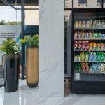Vending machine juno hotel