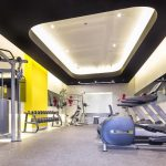 Yellow Hotel Gym